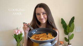 Cooking Lemon Butter Chicken ASMR Cooking Series