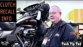 Harley-Davidson Clutch Recall Late 2018 | Tech Tip Ted