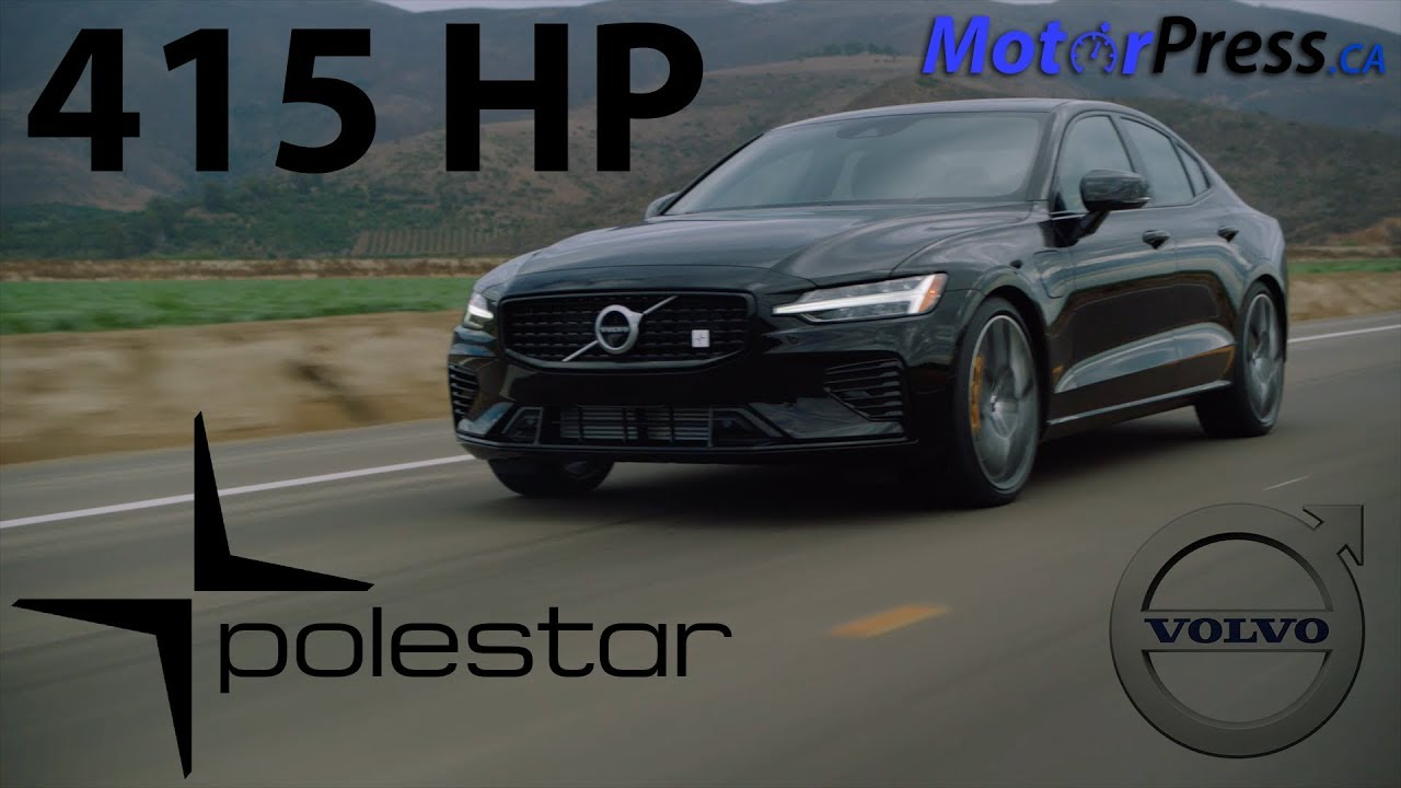 First Drive 2019 Volvo S60 T8 Awd Phev Polestar Engineered Youtube