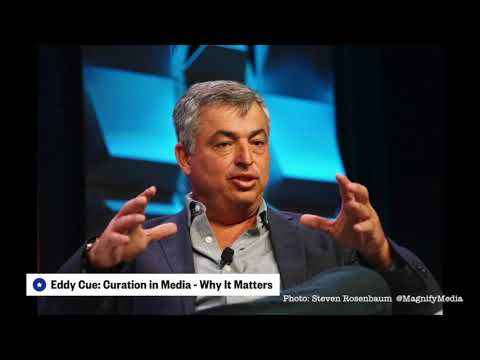 Eddy Cue: Curation in Media - Why It Matters