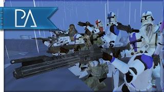 Video Epic Battle on Mustafar: Stormtroopers vs Clone Troopers - Bear Force II Mod Gameplay download MP3, 3GP, MP4, WEBM, AVI, FLV November 2017