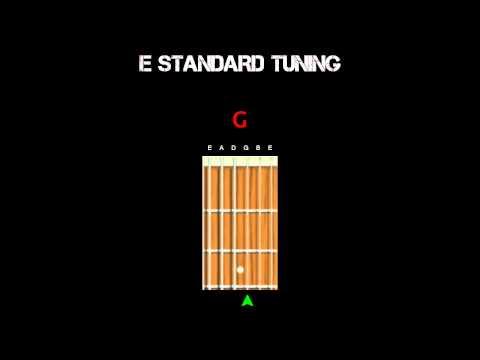 Guitar Tuning - Standard