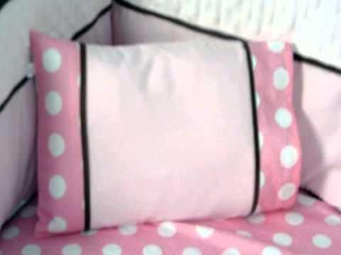 Details Soho Cherry Blossom Crib Nursery Bedding Set 14 Pcs Product Images