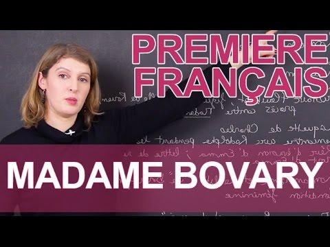 Madame Bovary, Flaubert - Français - 1ère - Les Bons Profs