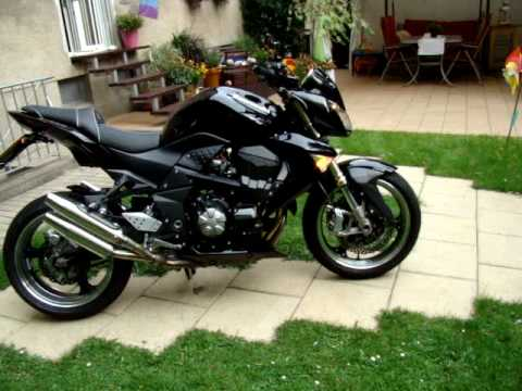 Kawasaki Z1000 Umbau - YouTube