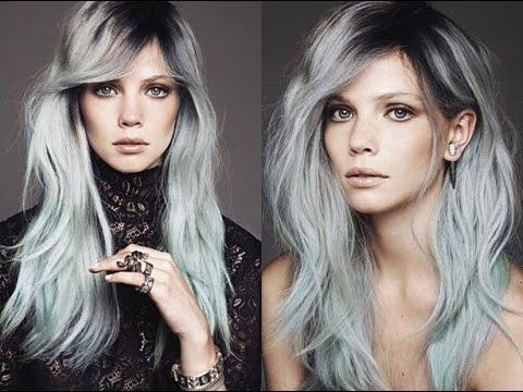 Las mujeres jóvenes eligen poner a la moda el pelo gris