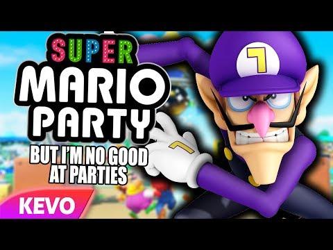Mario Party but I am no good at parties