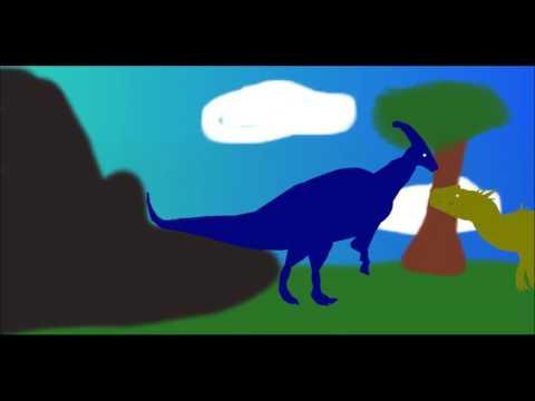 PPBA Parasaurolophus vs Allosaurus