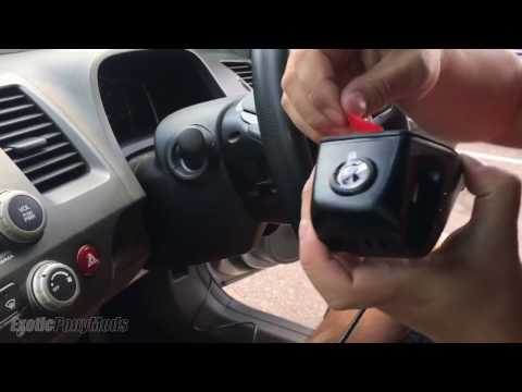 How To Run Wire For Dashcam - ODB2 Wifi Dash Camera By FiTCAM - Honda Civic