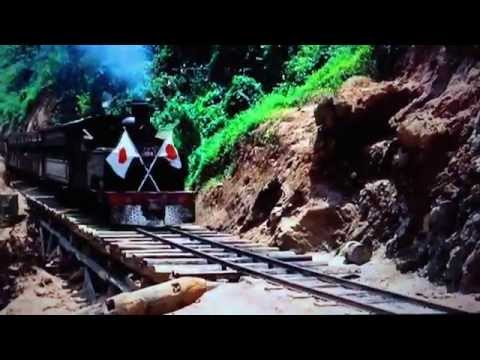 Bridge on the River Kwai- Japanese Train Crash