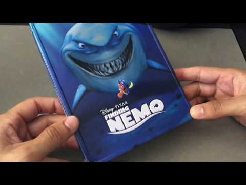 FINDING NEMO [BEST BUY] DISNEY LIMITED EDITION STEELBOOK/METALPACK BLU RAY REVIEW