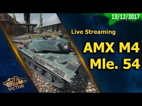 World Of Tanks | Live Streaming AMX M4 Mle. 54 [ITA]