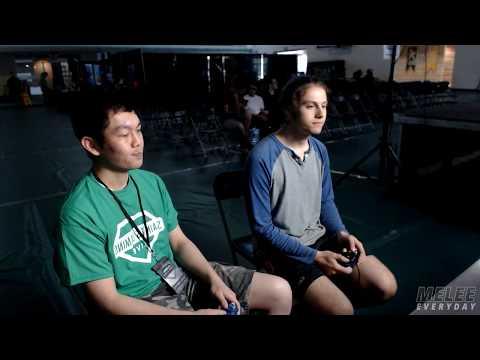 Saints Gaming Live 2017 - Juggleguy (C. Falcon) Vs. JOATguy (Falco) - SSBM - Top 32, Losers R1