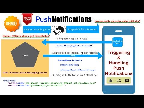 Android Notifications - Part 11, Triggering & handling Push