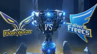 FW vs AFS | Worlds Group Stage Day 2 | Flash Wolves vs Afreeca Freecs (2018)