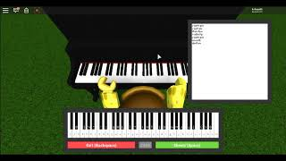 Rota (Roblox Piano Cover, Sheets in Desc.)