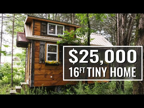 8x16ft Tiny Home Tour - Freedom Line