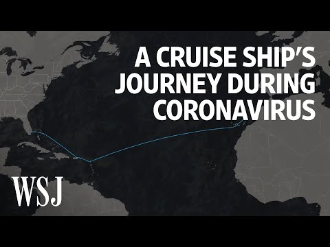 A Look Inside A Cruise Ship's Journey During Coronavirus | WSJ