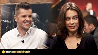 Radek Kotarski i Renata Dancewicz w #OnetPoGodzinach