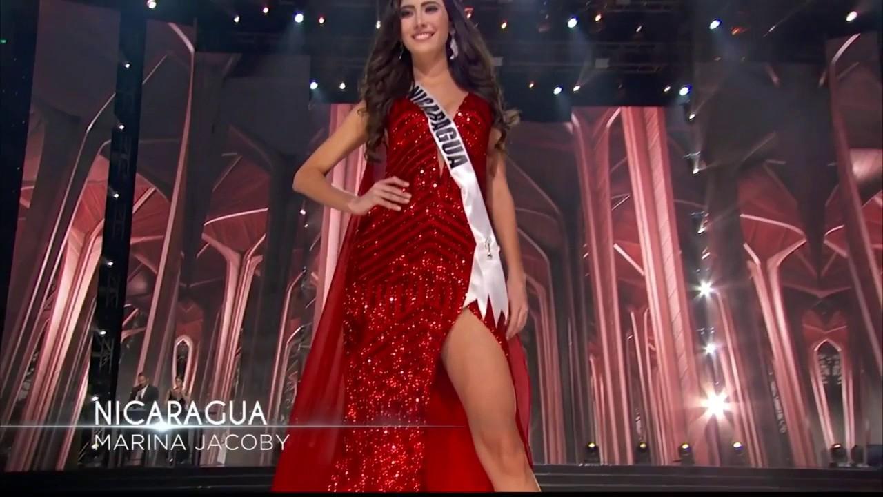 Marina Jacoby Wins Miss Nicaragua 2016: Miss Nicaragua 2016 En Preliminares De