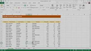 How to Extract Data from a Spreadsheet using VLOOKUP, MATCH and INDEX thumbnail