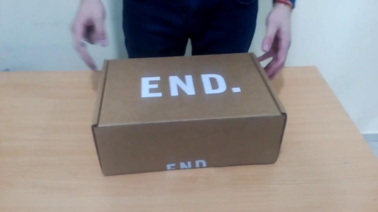 fae094f4ce74 Распаковка посылки из Америки  мужская обувь END.