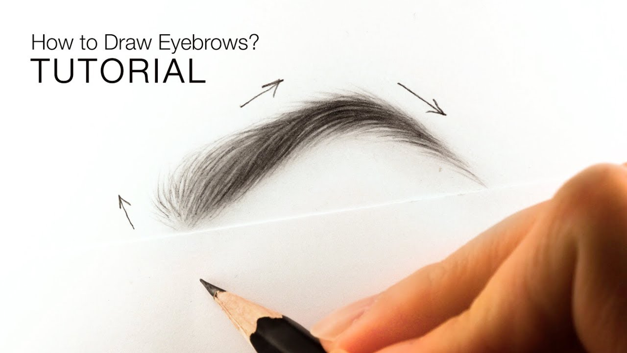 Howtodraw drawingtutorial eyebrows