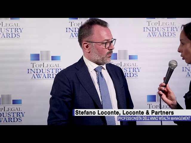 Stefano Loconte, Loconte & Partners - TopLegal Industry Awards 2018