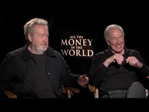 "All The Money In The World: Ridley Scott & Christopher Plummer ""J. Paul Getty"" Interview Part 1"