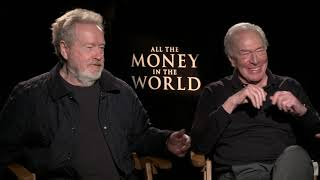 All The Money In The World: Ridley Scott & Christopher Plummer