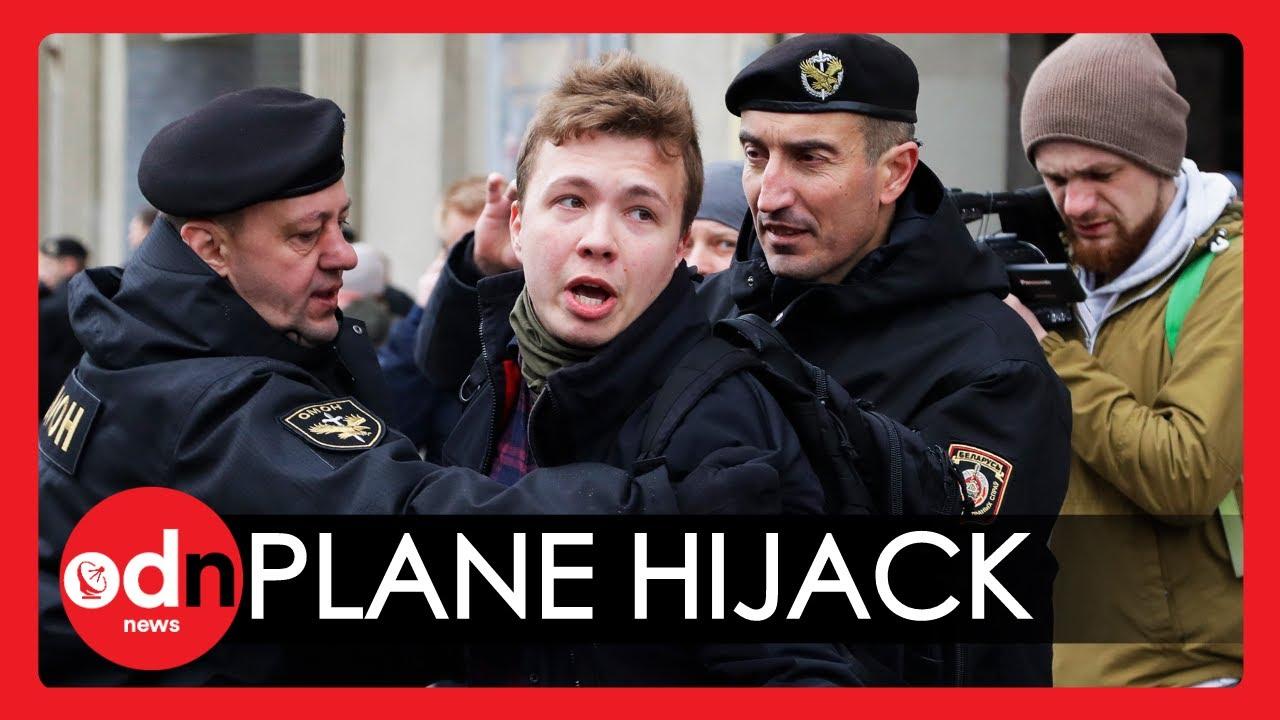 West condemns plane's diversion to arrest Belarus journalist