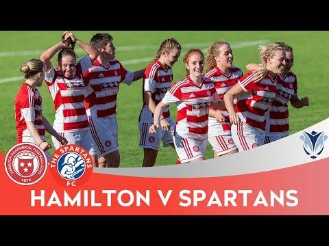 HIGHLIGHTS: Hamilton vs Spartans – SWPL 1 (07/05/2018)