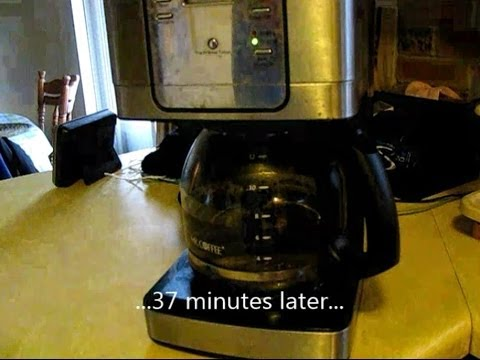 Mr Coffee Coffee Maker Not Working : How to unclog a Mr. Coffee JWX31 coffee maker - YouTube