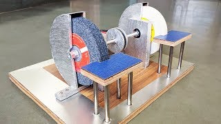 How to Make a Bench Grinder at Home