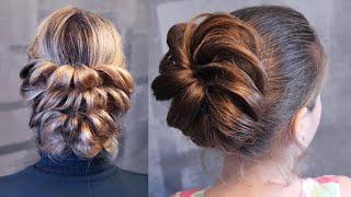 Лёгкие причёски   Авторские причёски   Лена Роговая   Hairstyles by REM   Copyright ©