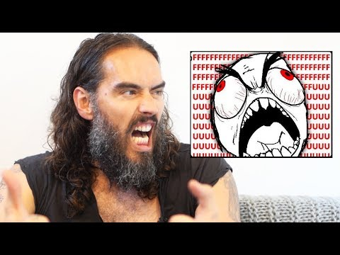 Russell Brand On His Anger & Rage!