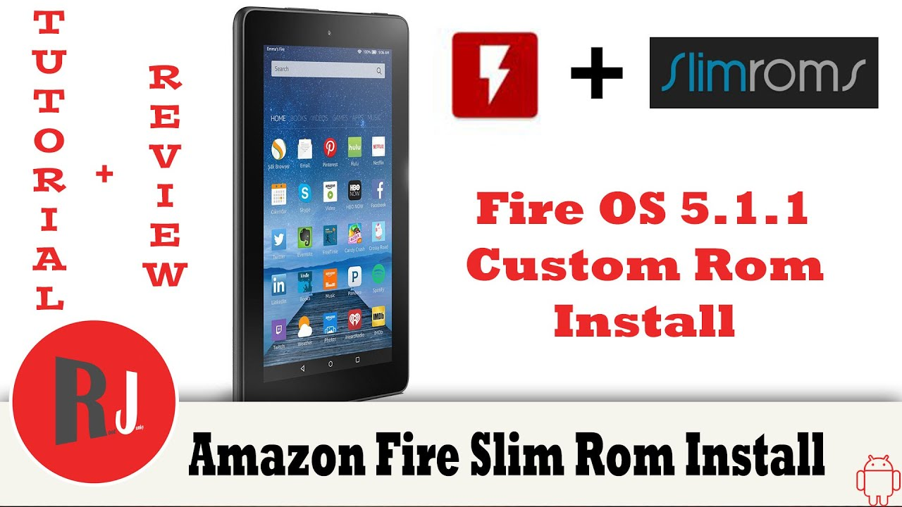 Amazon Fire 5th gen 7in Slim Rom install on Fire OS 5 1 1 with FlashFire App