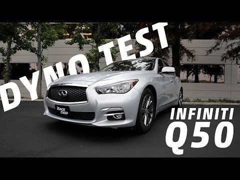 Infiniti Q50 3.0T RaceChip Tuning Review on the Dyno