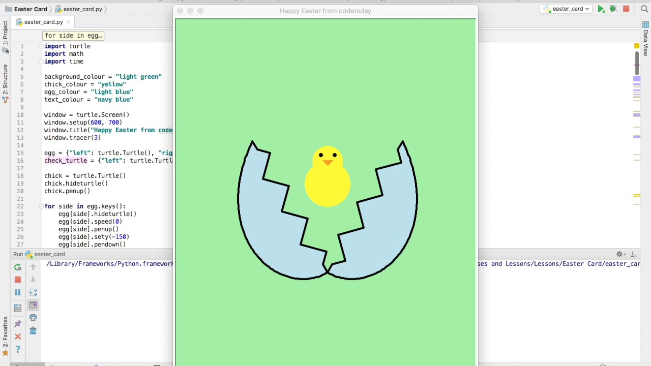 Happy Easter from CodeToday