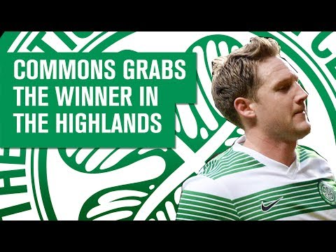 Kris Commons scores winning goal for Celtic