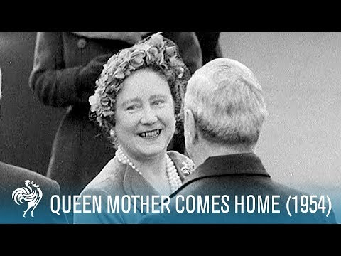 Queen Mother Comes Home (1954)