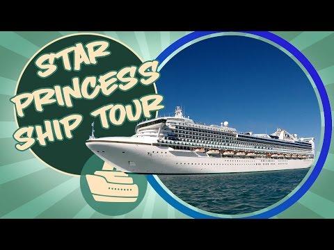 Star Princess Cruise Ship Tour
