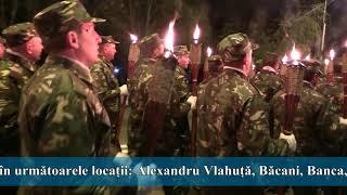 2017 10 25   Ziua Armatei Române   Retragerea cu torțe