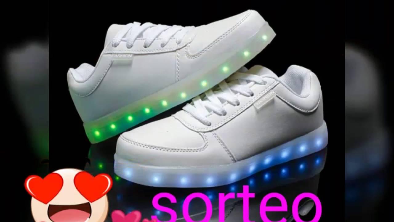 Iper sorteo internacional !!! Zapatos que brillan en la oscuridad blancos ;D P