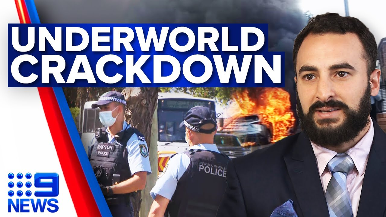 Download Police crackdown on Sydney underworld after Hamze shooting   9 News Australia