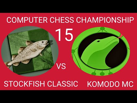 STOCKFISH CLASSIC VS KOMODO MC IN CCC 15 ON 23/08/20