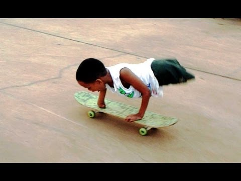Nirondes  No legs, only one hand and still skates