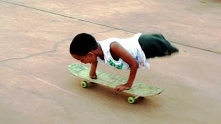 Nirondes - No legs, only one hand and still skates