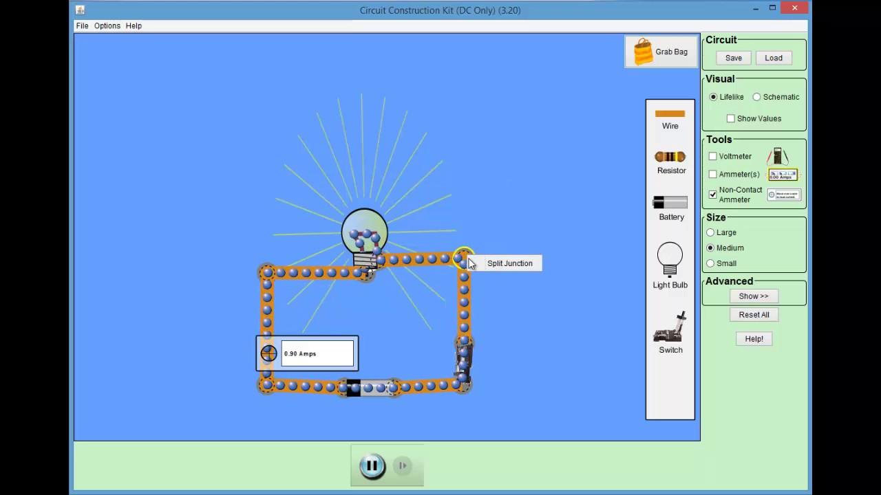Circuit Simulation Youtube Electronic Circuits Simulator