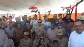 قناة السويس الجديدة: وفد شركة النصر للكيماويات الوسيطة يزور قناةالسويس الجديدة